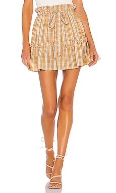Charlie Mini Skirt MAJORELLE $95