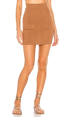 Zena Knit Skirt MAJORELLE $140