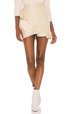 Poseidon Mini Skirt MAJORELLE $148