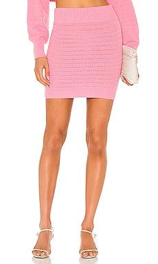 Rhea Mini Skirt MAJORELLE $128