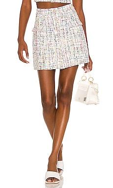 Ramira Mini Skirt MAJORELLE $168