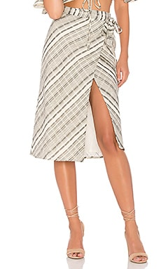 X REVOLVE Crystalline Skirt