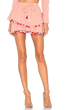 Calypso Skirt MAJORELLE $168 BEST SELLER