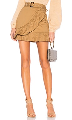 Baldwin Mini Skirt MAJORELLE $138