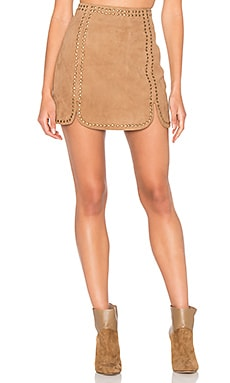 Texas Skirt in Camel