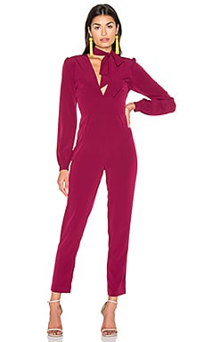 Bella Jumpsuit in Berry