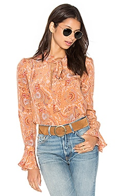 Canyon Shirt in Paisley Print