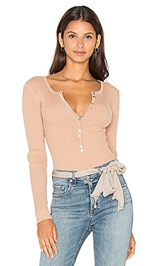 Lariat Bodysuit in Blush