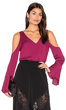 Natalia Top in Berry