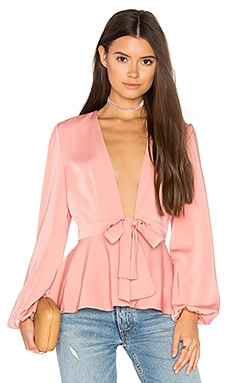 Lea Top en Blush