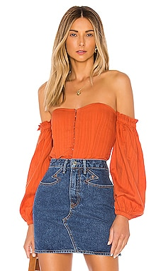 TOP MANCHES LONGUES BETSEY MAJORELLE $158