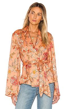 Angie Kimono Top MAJORELLE $168 NEW ARRIVAL
