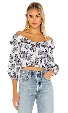 Pippa Top MAJORELLE $160 NEW ARRIVAL