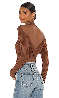 Lacie Twist Back Top MAJORELLE $128