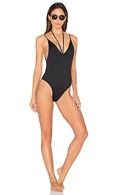 Kamikaze One Piece Swimsuit in Dark Seas