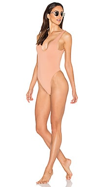 Tyler One Piece Swimsuit en Cognac