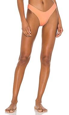 The Soho Rib Brief Bikini Bottom MINIMALE ANIMALE $44