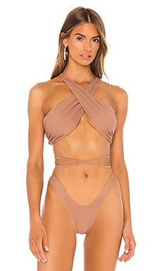 The Infinity Bikini Top MINIMALE ANIMALE $117