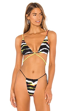 The Temptation Bikini Top MINIMALE ANIMALE $71