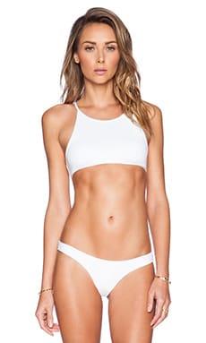 MINIMALE ANIMALE The Coral Sands Bikini Top in Conch