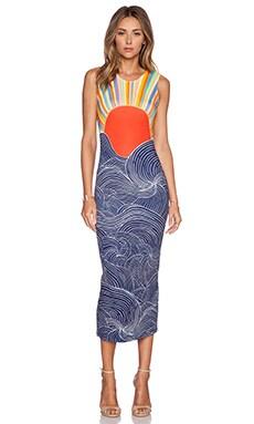 Mara Hoffman Midi Dress in Misun