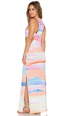Mara Hoffman Maxi Dress in Sky Dye