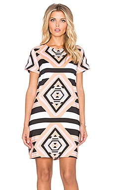 Tee Shift Dress in Keeper Pink