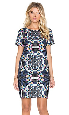 Mara Hoffman Tee Shift Dress in Tesselate Navy