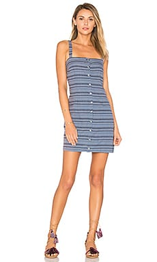 Sheath Mini Dress in Denim Multi