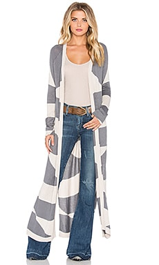 Mara Hoffman Cardigan in Diamonds Grey