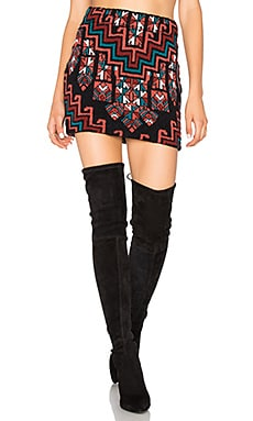 Bolnisi Rug Knit Mini Skirt