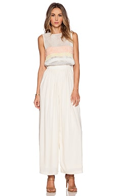 Mara Hoffman Embellished Jumpsuit in White