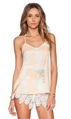 Mara Hoffman Tank Top in Loom Peach