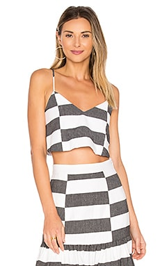 Crop Cami in Black & White