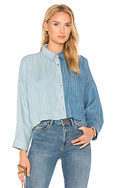 Inez Button Down