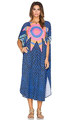 Mara Hoffman Scoop Back Dashiki in Starbasket Navy