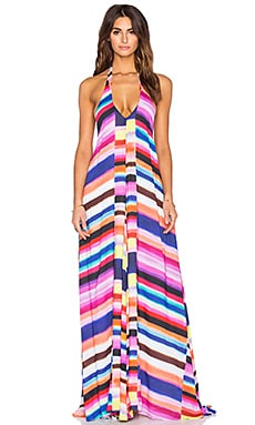 Mara Hoffman Solstice Maxi Dress in Bubble Gum