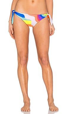 Mara Hoffman Tie Side Brazillian Bikini Bottom in Auralight