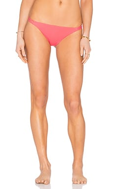 Mara Hoffman Side Strap Bikini Bottom in Nectarine
