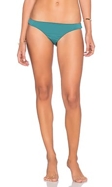 Mara Hoffman Low Rise Bikini Bottom in Sage
