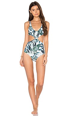 Knot Front One Piece