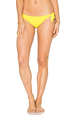 Tie Side Bottom in Yellow