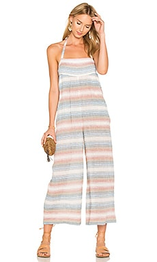 Scoop Pocket Jumpsuit in Multi