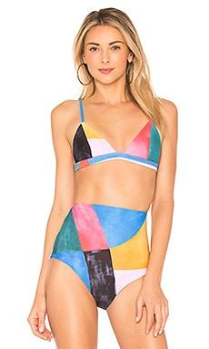 Купить Верх купальника astrid - Mara Hoffman цвет мульти