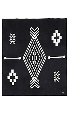 Marcelo Burlon x Pendleton Blanket in Black White