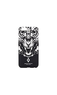 Marcelo Burlon El Muerto Case in Black Multi