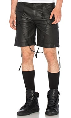 Marcelo Burlon Caseros Shorts in Black