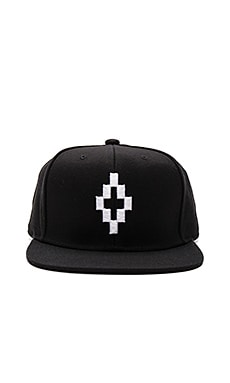 Marcelo Burlon Starter Cruz Cap in Black & White