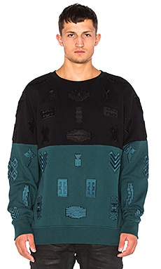 Marcelo Burlon Ollague Crewneck in Multi