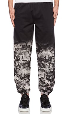 Marcelo Burlon Tom Sweatpant in Black